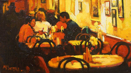 Study For 'The Red Cafe'