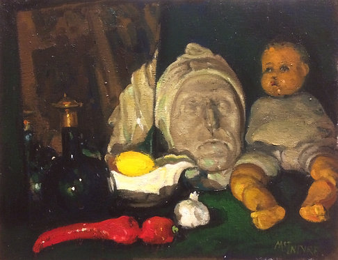 Evening Reflections - Still Life With Doll (2)