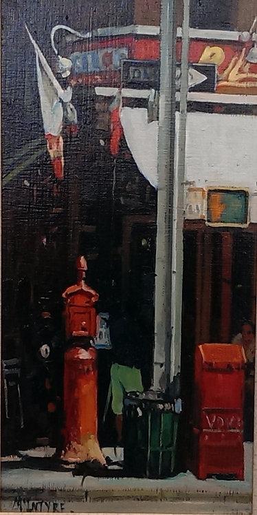 Cafe - Greenwich Village, New York