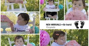 BabyJaarPlan: CakeSmash van Evi