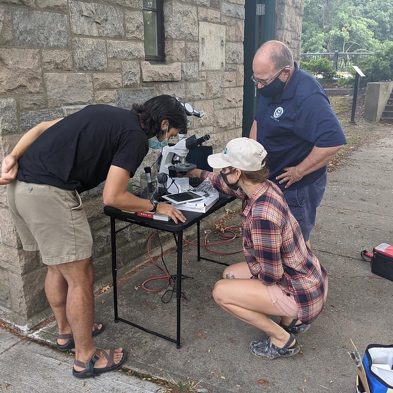 Volunteer Cyanobacteria Monitoring Event