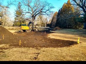 Rain Garden Construction (Site 37C)