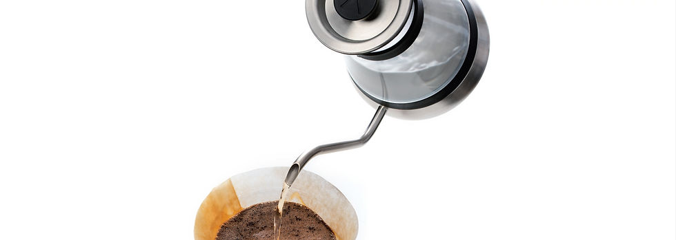 Chettle induction pour over coffee maker