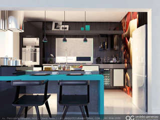 Cozinhas integradas!