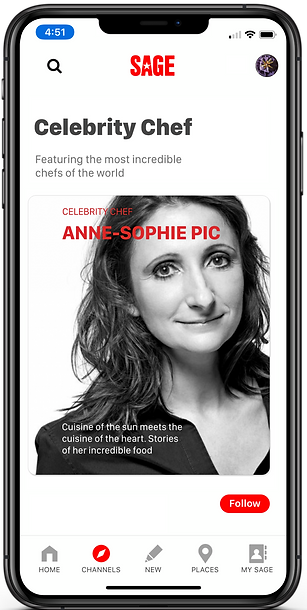 Anne Sophie Pic Featured on Sage Plus fo
