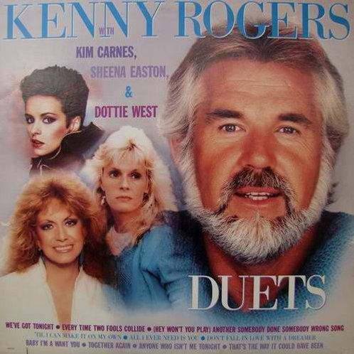 Kenny Rogers With Kim Carnes, Sheena Easton & Dottie West – Duets