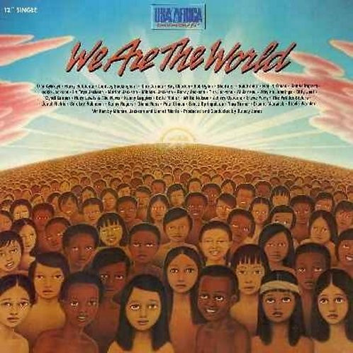 USA For Africa – We Are The World-Single