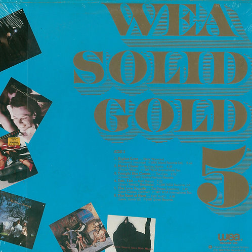 Various ‎– WEA Solid Gold 5 (MINT)