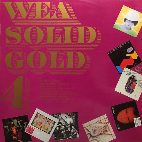 Various ‎– WEA Solid Gold 4 (MINT)