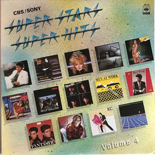 Various – CBS/SONY  Super Stars, Super Hits Vol.4