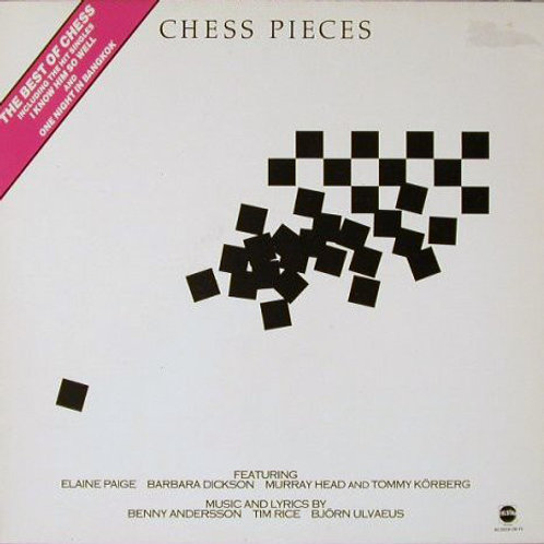 Benny Andersson, Tim Rice, Björn Ulvaeus ‎– Chess Pieces