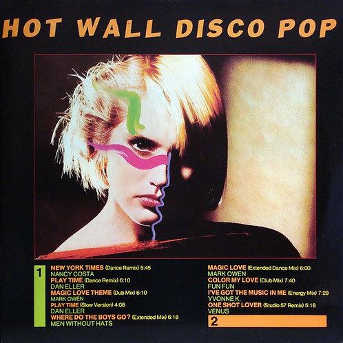 Various – Hot Wall Disco Pop(透明粉紅)