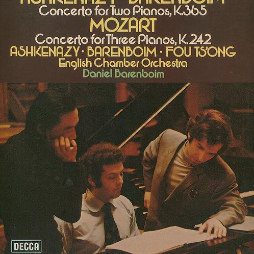 Mozart, Ashkenazy, Barenboim, Fou Ts'Ong, English Chamber Orchestra