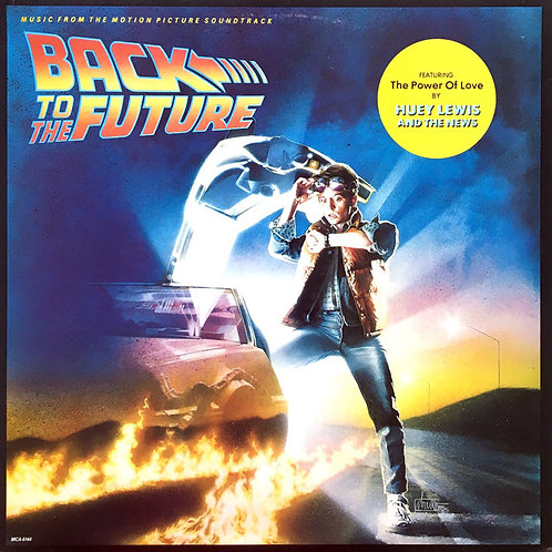 Various ‎– Back To The Future (Music From The Motion Picture Soundtrack)