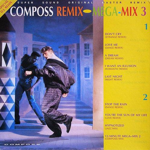 Various – Composs Remix Mega-Mix 3(透明茶色)