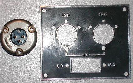Vox AC50 Speaker Panel 1