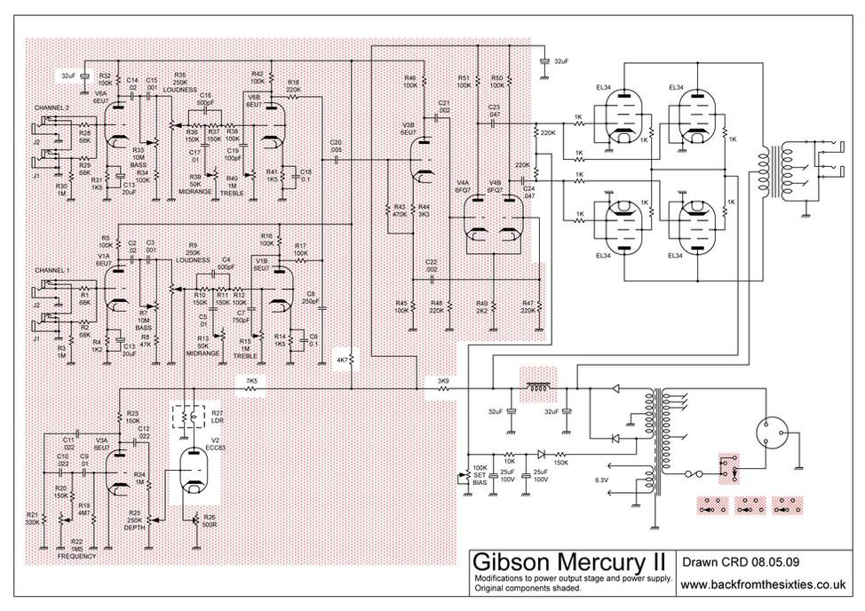 Gibson Mercury Jim Henshaw