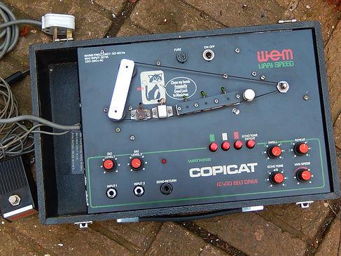 Watkins Copicat IC400 Varispeed top view