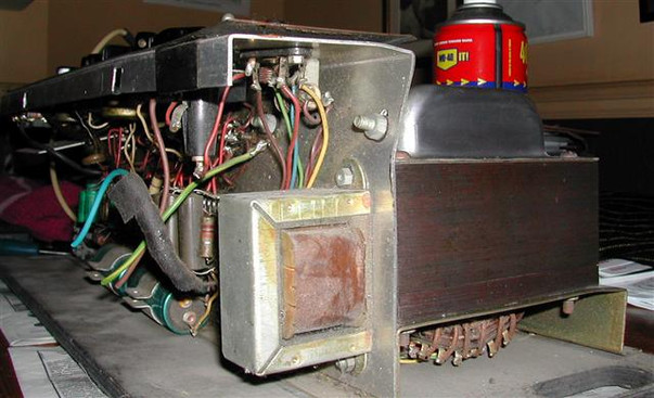Vox AC50 Chassis Damage 2