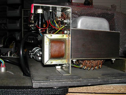 Vox AC50 Chassis After Straightening