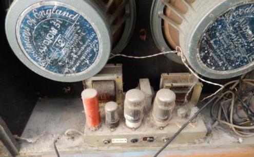 Selmer Twin Selectortone power section in situ