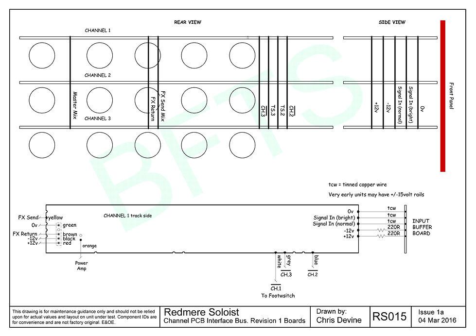 Refmere Soloist channel pcb interface bus Rev1