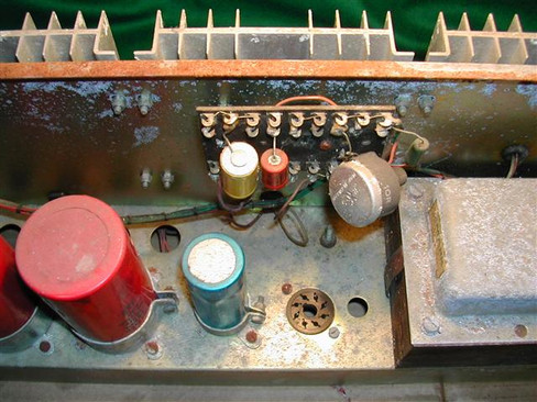 Vox Supreme Power Amp Chassis 3