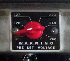 Fender Bassman 135 voltage selector 2