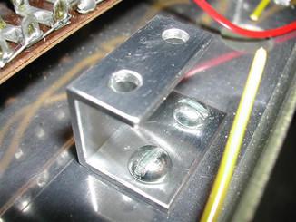 Vox AC50 Capacitor Mounting Bracket