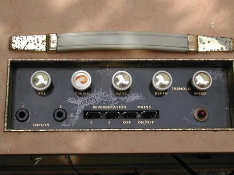 Bird Golden Eagle 2/15 Control Panel