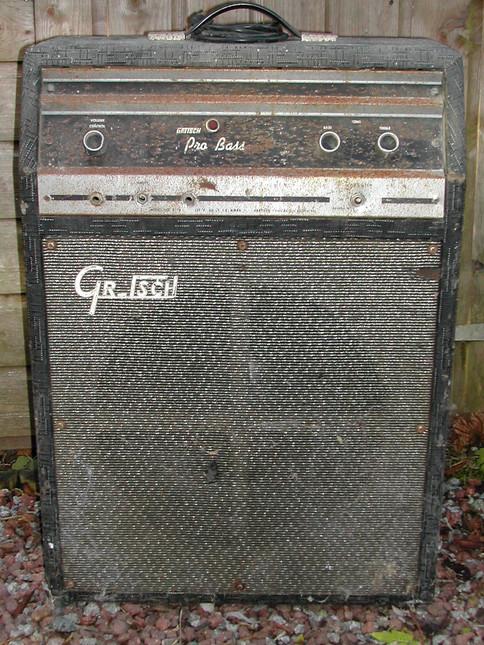 Gretsch Pro Bass 6170 Front View