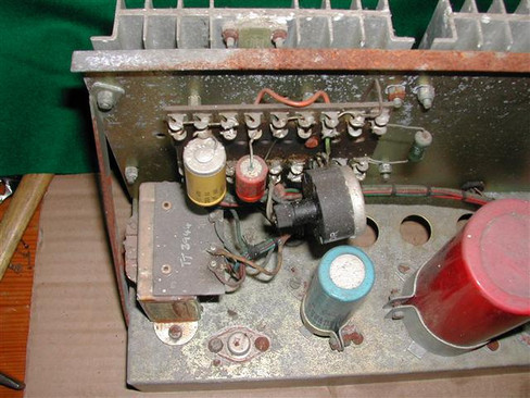 Vox Supreme Power Amp Chassis 1