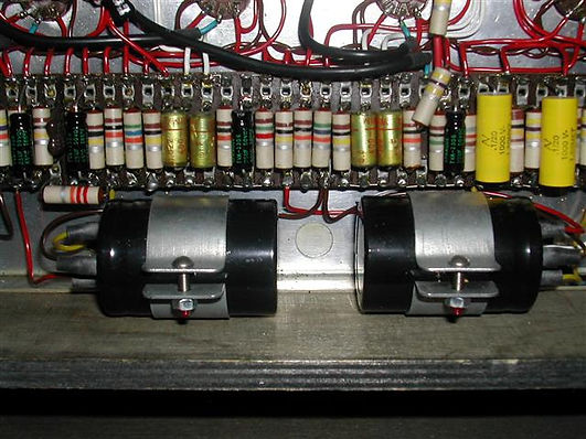 Vox AC50 New Electrolytics