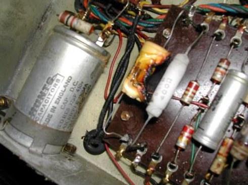 Selmer Twin Selectortone power section damage