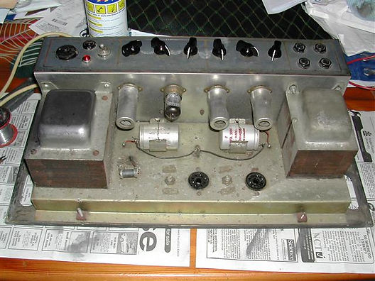 Vox AC50 General View Top Of Chassis