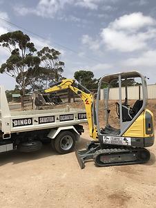 murray bridge excavator hire