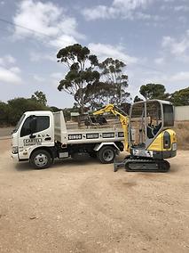 excavator hire mount barker