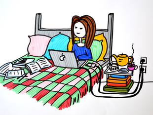 Bed office
