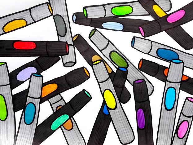 Random markers
