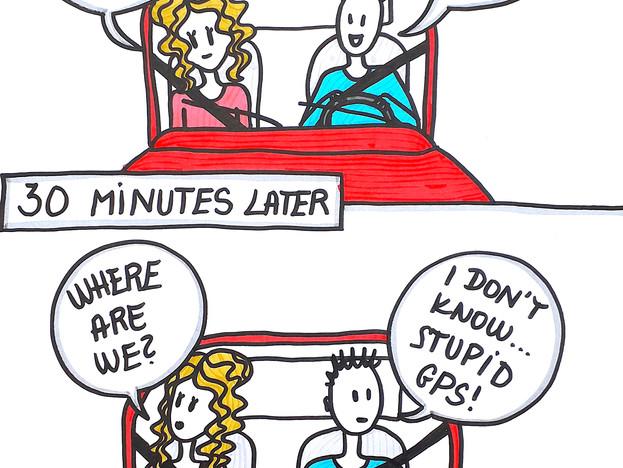 Stupid GPS