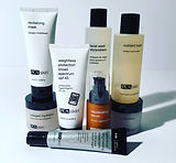 Products at ANuU Aesthetics and Electrolysis Center.