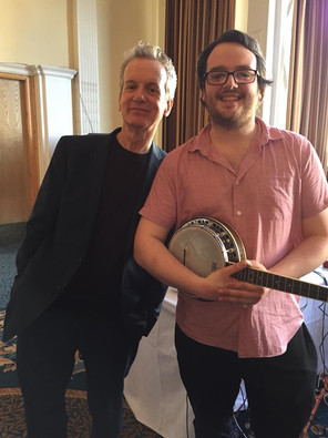 With Frank Skinner at the GFS Blackpool 2018