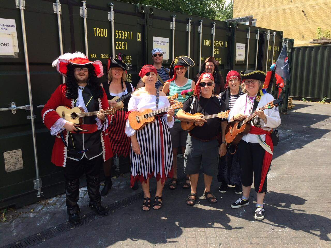 Ware Ukulele Group Carnival 2018
