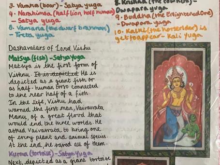 Student Articles :Dashavatara by Rushitha Koli