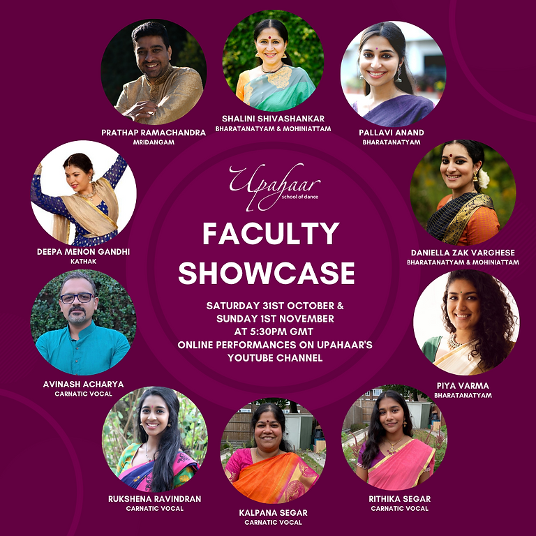 Upahaar Faculty Showcase