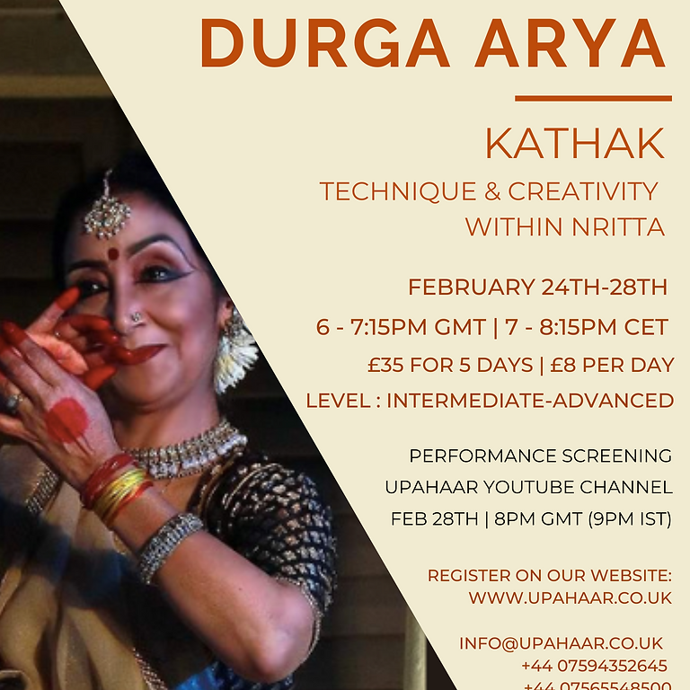 Kathak by Durga Arya