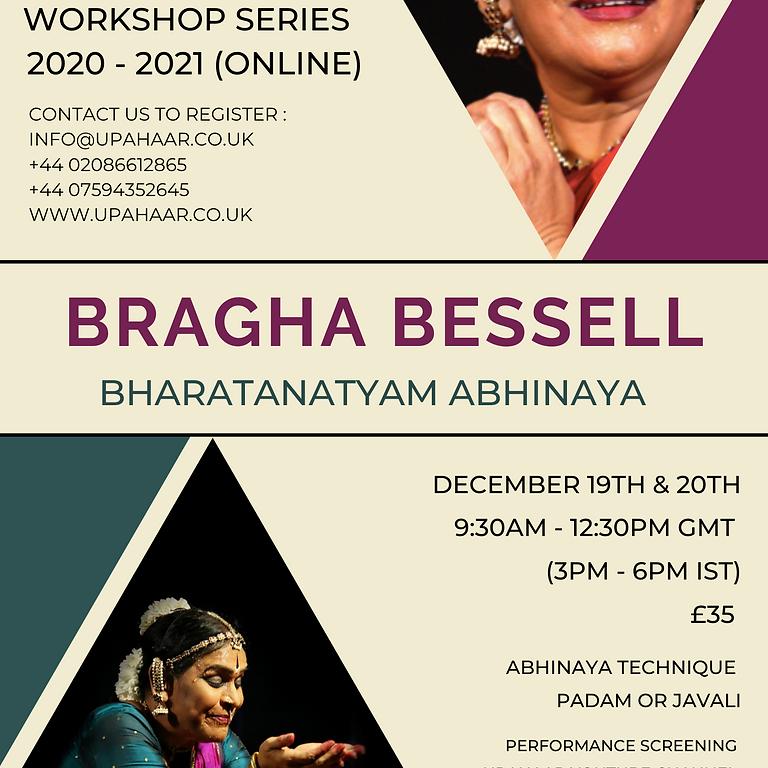 Bharatanatyam Abhinaya with Bragha Bessell
