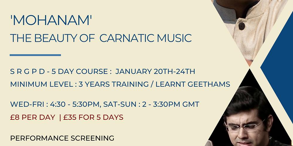 Carnatic Music by Sikkil Gurucharan