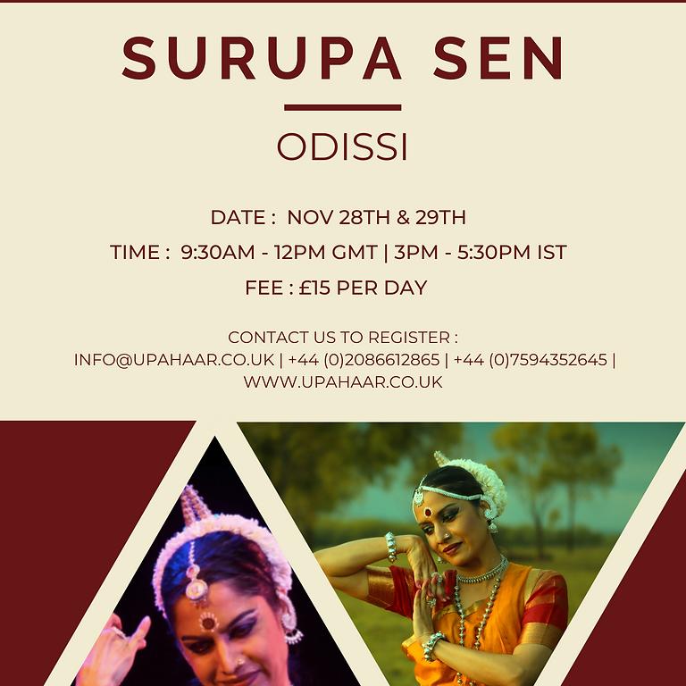 Odissi Technique with Surupa Sen