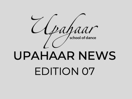Upahaar NEWS Edition 7 : April 2021